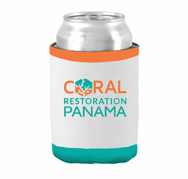 Koozie Coral Restoration Panama | Island Art  Products | Art & Souvenirs - Serving Bocas del Toro and Panamá - Support Coral Restoration!