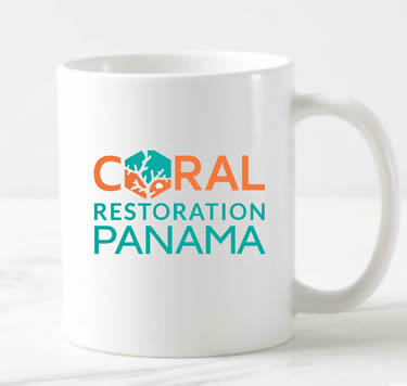 Mugs Coral Restoration Panama | Island Art  Products | Art & Souvenirs - Serving Bocas del Toro and Panamá - Support Coral Restoration!