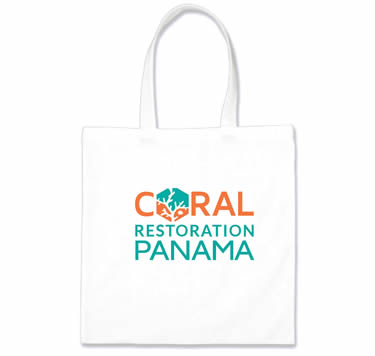 Tote Bags Coral Restoration Panama | Island Art  Products | Art & Souvenirs - Serving Bocas del Toro and Panamá - Support Coral Restoration!